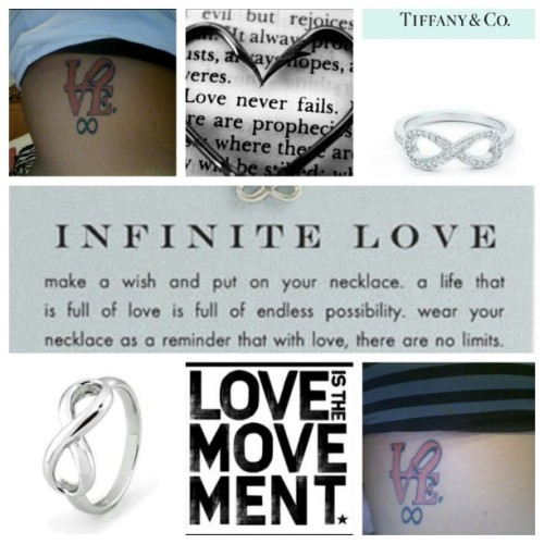 I'm obsessed with infinity symbols #endlesslove