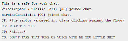 killer-pineapples:  this is the most quality roleplay I've been in all night