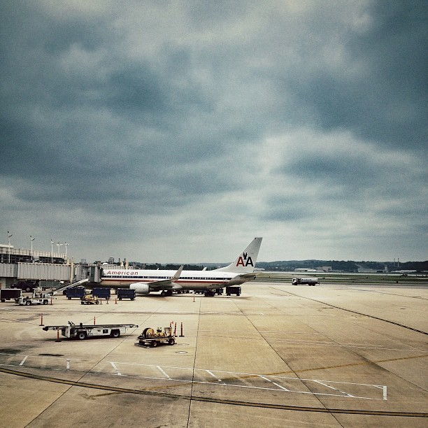 Arrived… #dca #americanairlines #flyaa @AmericanAir
