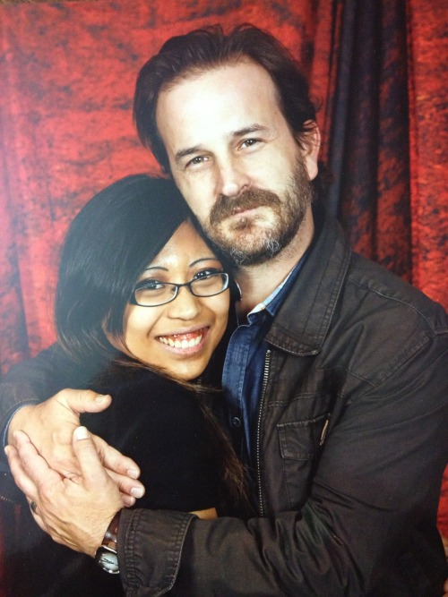 My Richard Speight, Jr. Photo Op.