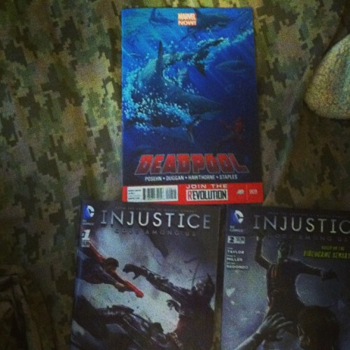 #Deadpool 9 and #Injustice 1 & 2  #MarvelComics #DCcomics #comicbooks