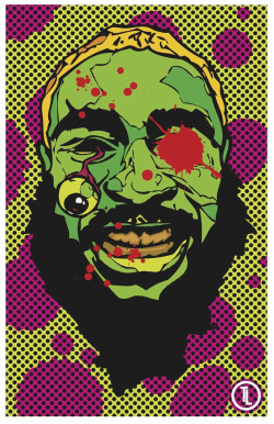 flatbushzombiez:  Flatbush Zombies Art: Zombie Juice! Digital Poster made by http://taylorlindgrenart.tumblr.com/