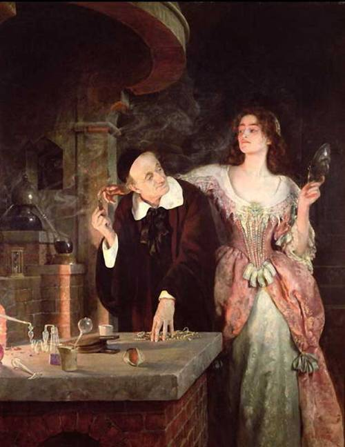 John Collier, The Laboratory (1895)