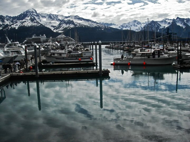thetruthcantalwaysbebeautiful:  Photo I took in Seward, Alaska on a beautiful cold day