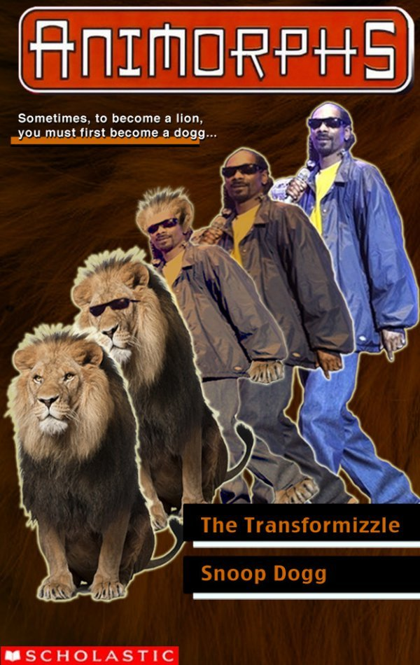 collegehumor:  Animorphs: Snoop Dogg Edition Doggy fizzle anthropomorphizzle.