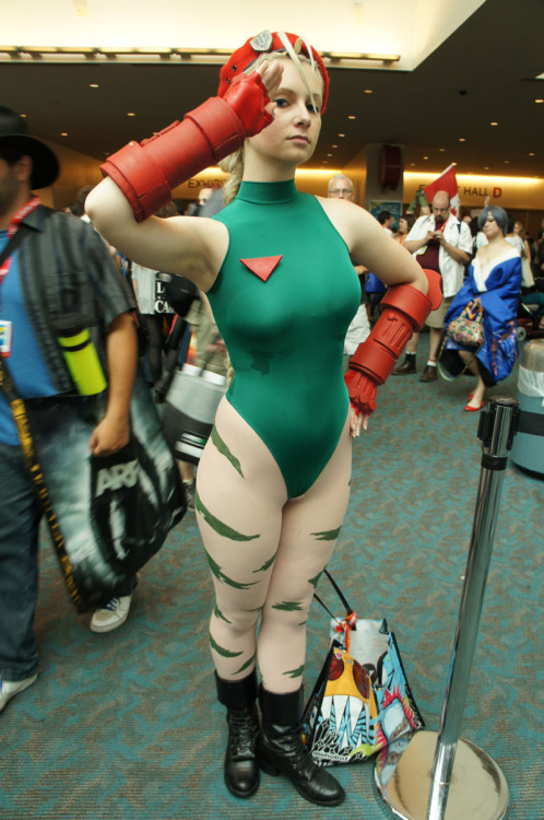 Cosplay do Dia. Cammy, Street Fighter.