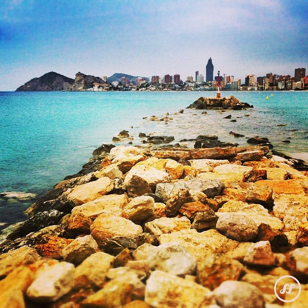 #benidorm #beach #sea #igersbenidorm #skyline