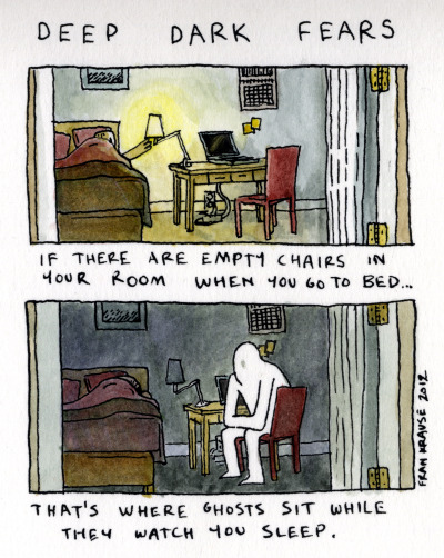 eatsleepdraw:  via deep dark fears.