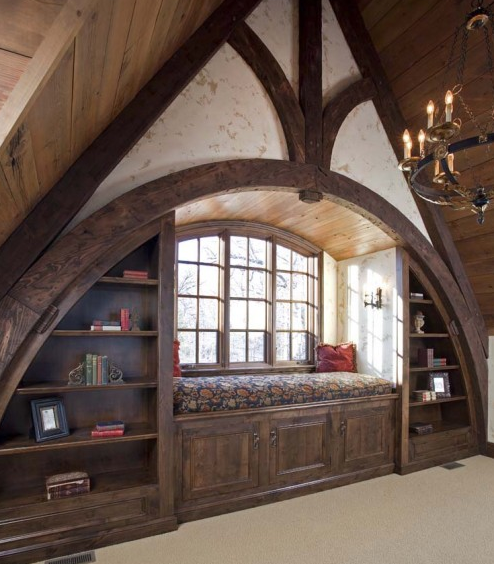 bluepueblo:  Reading Alcove, Wayzata, Minnesota photo via houzz