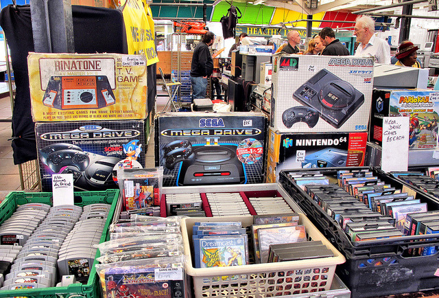 geekylifestyle:  Retro Gaming Galore by M.G.T on Flickr.