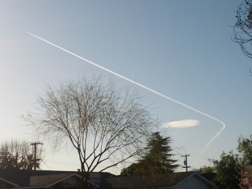 Go home, airplane.  You're drunk.