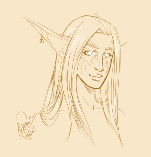 el-aatmik:  Miacoda, night elf hunter, for miamiacoda