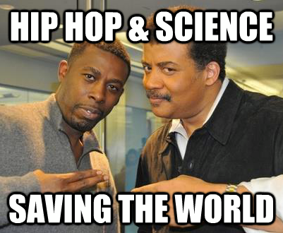 "Neil deGrasse Tyson Connects with Rapper The GZA     Have you seen the episode of StarTalk on the Nerdist Channel where Neil interviews GZA from the Wu-Tang Clan? If not, you can watch it below.      In case you didn't know it, Neil is not a Hip Hop fan. No, Neil is into the Blues, in a big way. And so he didn't know much about GZA going into the interview. I watched as our producer and a Hip Hop aficionado (who also happened to be a postdoctoral researcher in physics at MIT) briefed Neil on ""The Genius.""      Then GZA came in to the studio, and I watched him and Neil get to know each other. On paper, the two don't appear to have much in common, and at the start of the afternoon, it wasn't certain that they'd end up that way, either.      But then they got into the studio and the interview began. Slowly, GZA got comfortable with Neil, and they started to connect. And it turns out that they both have one very powerful thing in common: the universe is their muse.      Listening to two people who have influence over others – who inspire those they touch to learn, to explore, to question – who are so very different in some ways, watching them come to understand and respect each other was a powerful experience, and I think it comes across in the video. I know everyone in the studio felt it that day.      At one point Neil asks GZA how science factors into his creativity and what scientific idea is most intriguing. And GZA answers, ""How everything is connected.""      Clearly, one of the things that connects Neil and GZA is their love and awe for science. But there is something else that connects them, something that GZA puts best in the interview:      ""That's one of the unique things about being an artist. That you have a voice that people hear and listen to, so it's important to say something that's important.""   Interview Can Be Found Here"