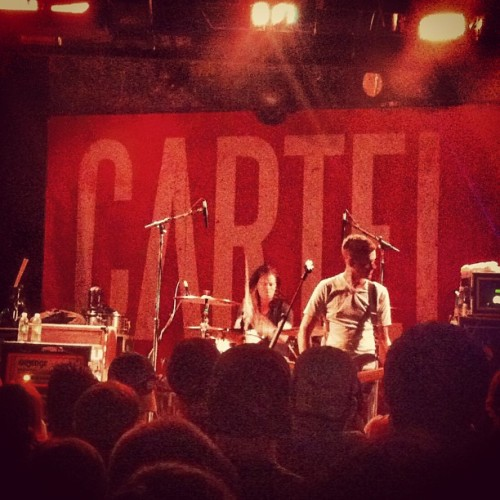Cartel last night in New Haven - #cartel #collider #freetickets #awesome with @amandapolyyy  (at Toad's Place)