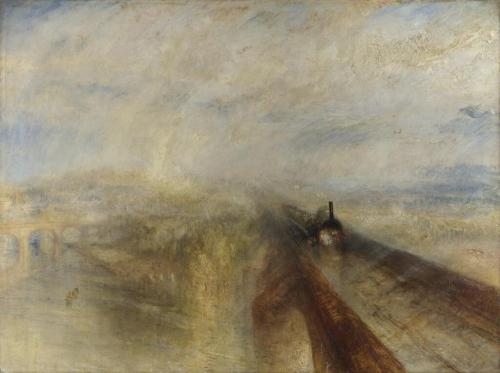 JMW Turner's Rain, Steam And Speed (via Twitter / Landscapism)