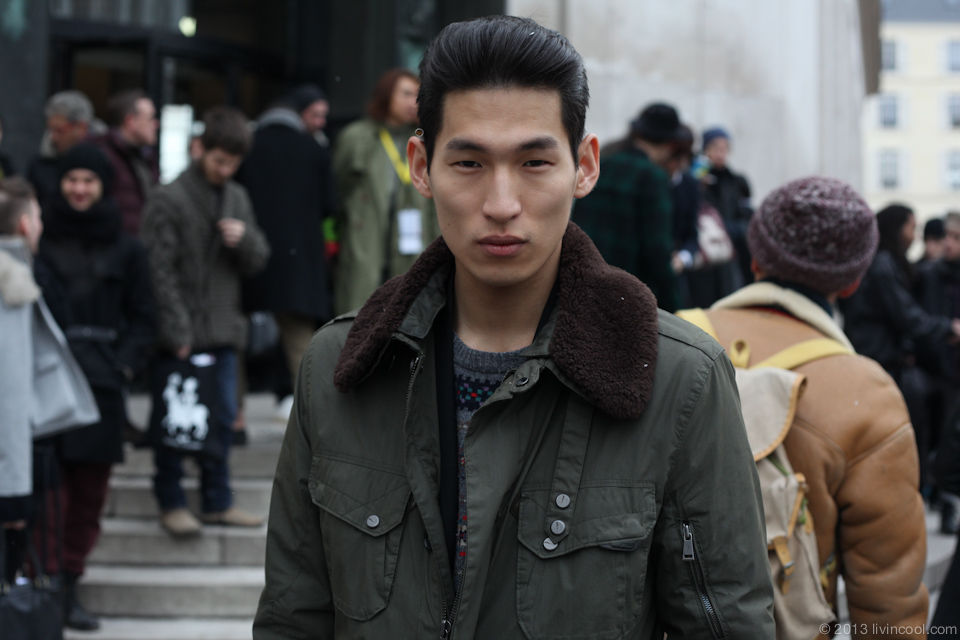 koreanmodel:    Streetstyle: Jae Yoo in Paris.