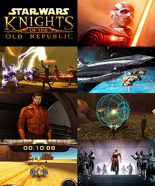 games that have a special place in my heart: star wars: knights of the old republic