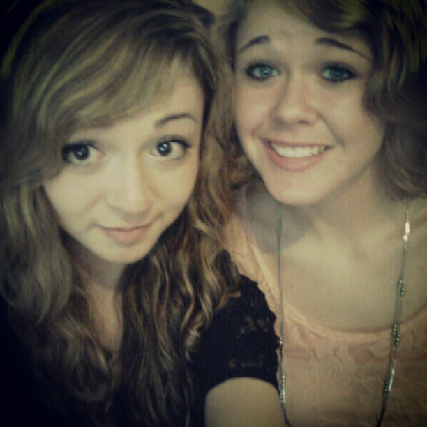 We're kinda cute. #sisters #photooftheday