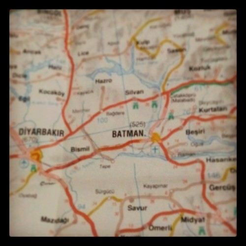 I found Batman at Turkey *w*#LOL #Fun