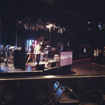 Load-in at The Roxy in Hollywood tonight! Come get your face melted. I play at 7:15