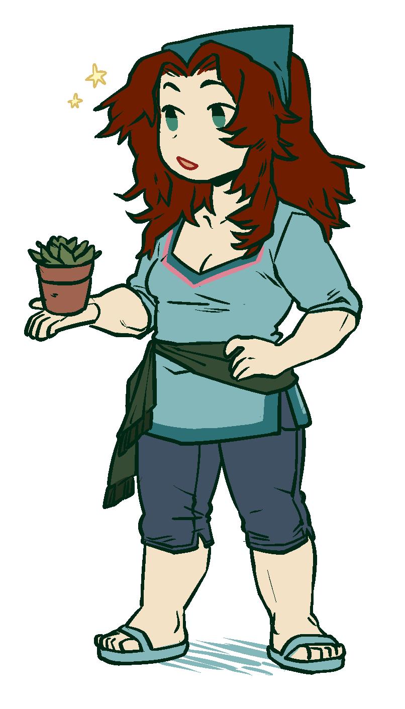 also have a happy garden mom
