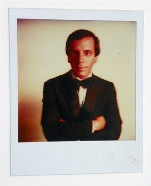 Steve Rubell This is Andy Warhol's famous vintage photograph of the legendary New York nightlife impresario Steve Rubell, founder of Warhol's favorite disco, Studio 54. Warhol took this photograph when Rubell was chosen to appear on the cover of Interview magazine in 1979, at the height of his fame and notoriety. Place your bid on artnet Auctions.
