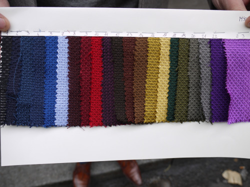"What color would you choose? (""Grenadine"" tie)"