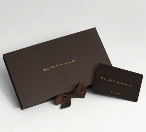 Give the gift of Elie Tahari.