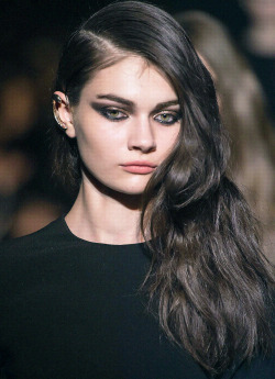 ahmoses:   Antonina Vasylchenko at Francesco Scognamiglio Fall 2013.  perfection