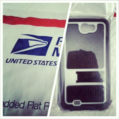 Just sold the last #samsung #galaxy #note2 case, time to ship. #android #usps #logistics