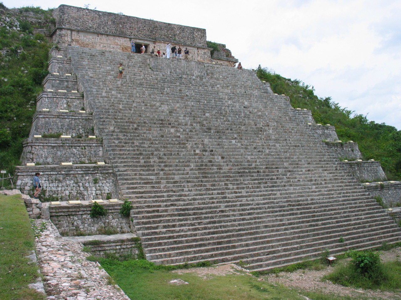 The Great Pyramid at the Mayan ruins of Uxmal, Mexico. Photo courtesy Keith Pomakis