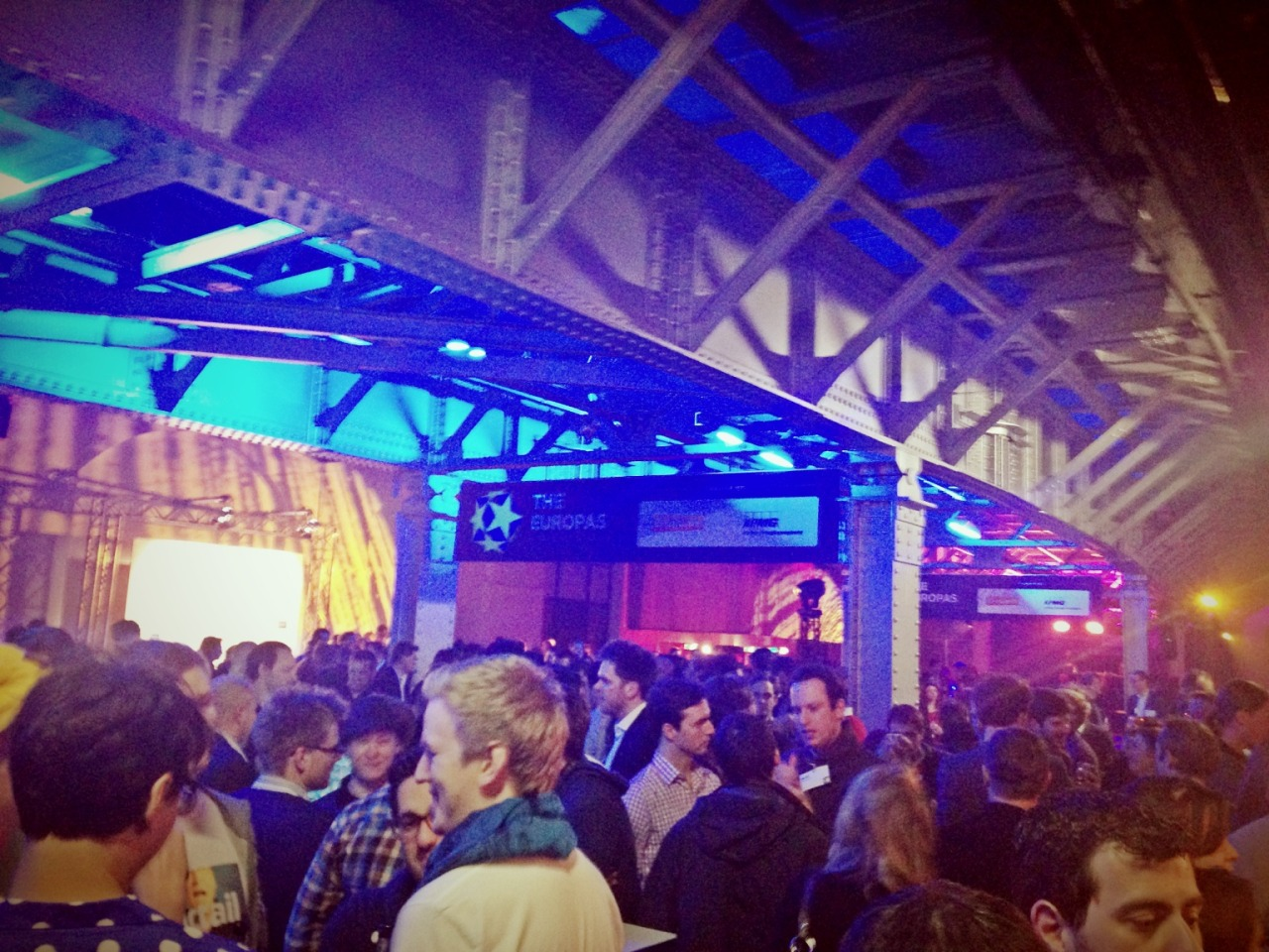 We made it here! #TheEuropas with Geoff at Postbahnhof – View on Path.