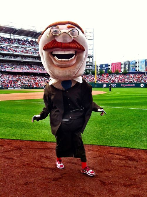 "honkydoodledandy:  So ""Teddy Roosevelt Mascot"" is the best thing ive ever googled ever."