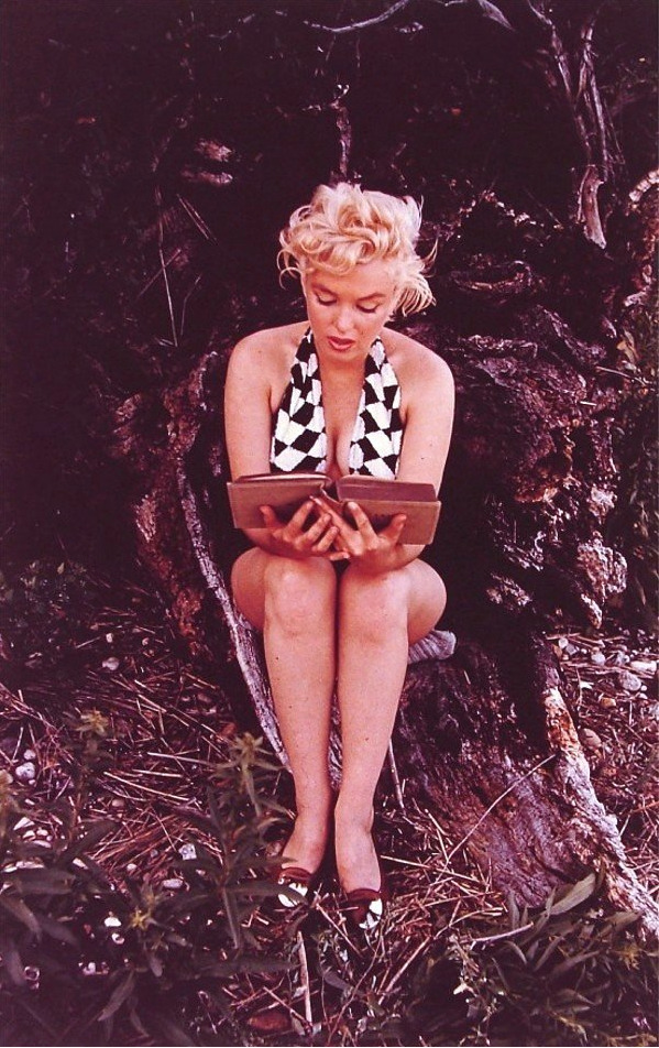 bohemea:  Marilyn Monroe by Eve Arnold, September 1955