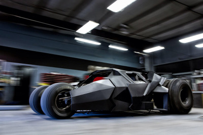 Batman Tumbler Replica by Team Galag