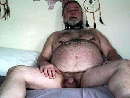 beardaddyslavemaster:  C is for Collared Daddy Bear