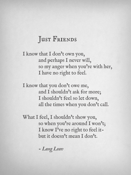 More poems by Lang Leav ♡