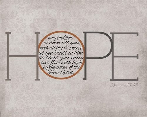 "spiritualinspiration:  ""…those who hope in me will not be disappointed."" (Isaiah 49:23, NIV)"