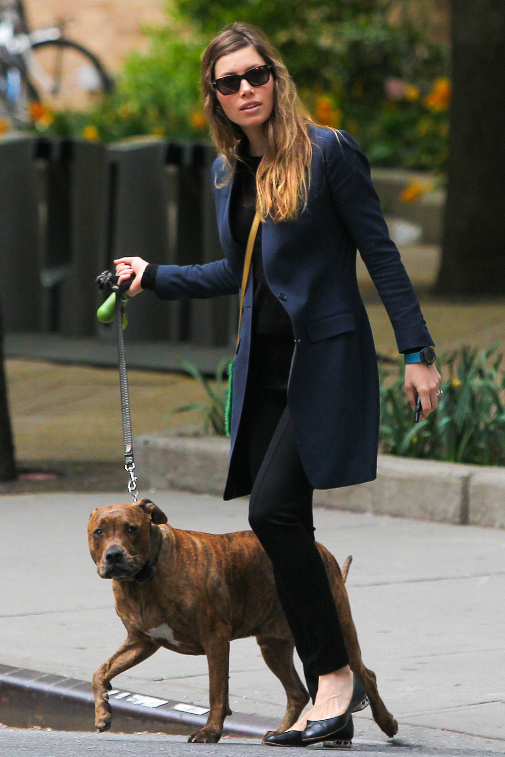 teacup-tales:  Jessica Biel in NYC