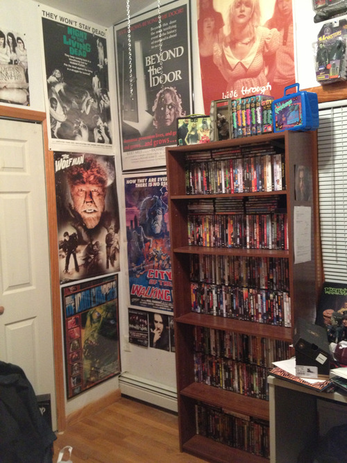 so yeah, i have completely run out of shelf space for my DVD's