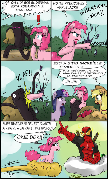 epicbroniestime:  La increible pinkie pie! by ~Ciriliko2