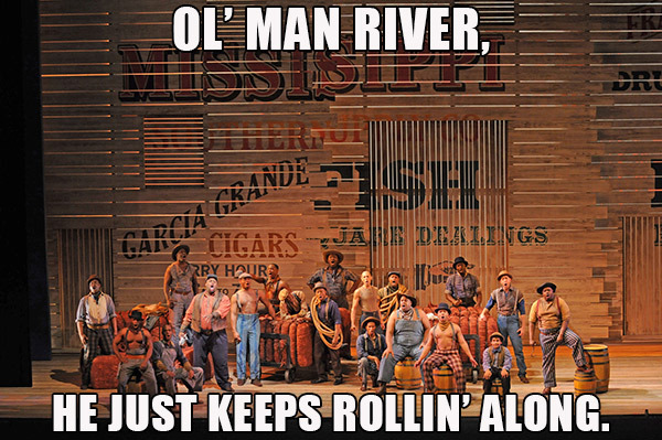 Show Boat is comin' May 4-26! (production image from Lyric Opera of Chicago)