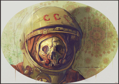 separatethisbodyfromymind:  Cosmonaut by ~bradwright