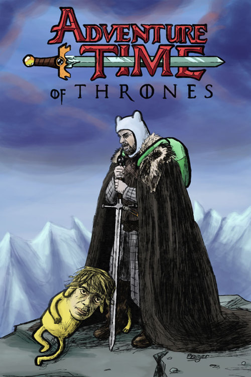 the-wool-to-hide-the-wolves:  Adventure Time of Thrones by  Bizarguy