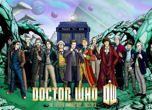 shawnvanbriesen:  The Doctors- 50th Anniversary Edition (spoilers?) by *PaulHanley