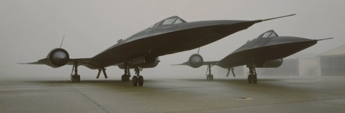 neuromaencer:  Lockheed Martin SR-71 Blackbirds