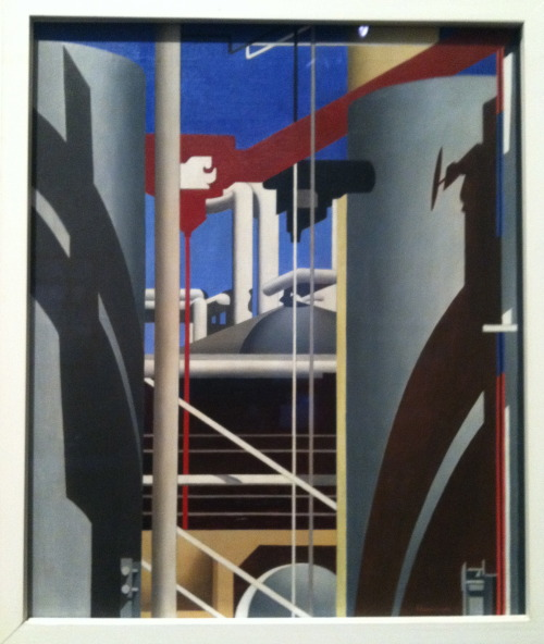 Painting by Charles Sheeler.