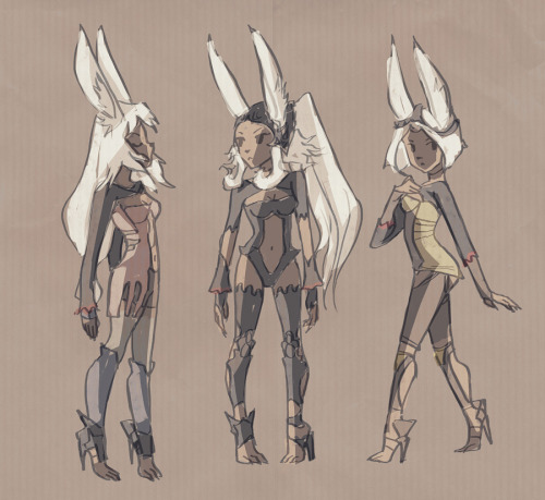 specific bunny women