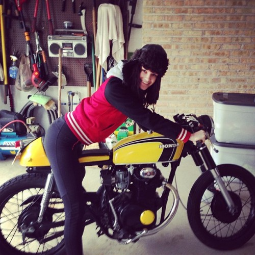 Sassy new toy #caferacer #motorcycle #honda #hot