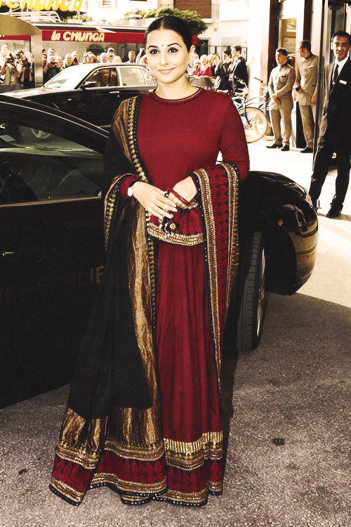 Vidya Balan at the 66th Cannes Film Festival